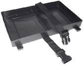 BATTERY TRAY W/STRAP-27 SERIE BATTERY TRAY WITH HOLD DOWN STRAP (SEACHOICE)