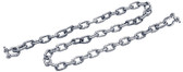 ANCHOR LEAD CHAIN-GALV-1/4 X4 GALVANIZED ANCHOR LEAD CHAIN WITH SHACKLES (SEACHOICE)
