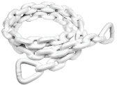 ANCHOR LEAD CHAIN-PVC-3/16 X4' PVC COATED ANCHOR LEAD CHAIN (SEACHOICE)