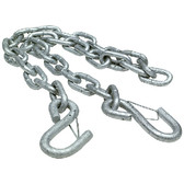 TRAILER SAFETY CHAIN 7/32 X36 TRAILER SAFETY CHAIN (SEACHOICE)