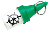 FLOATING KEY BUOY -GREEN FLOATING KEY BUOY (SEACHOICE)