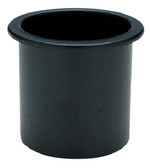 DRINK HOLDER BLACK SM RECESSED PLASTIC RECESSED DRINK HOLDER (SEACHOICE)