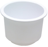 DRINK HOLDER WHITE LG RECESSED PLASTIC RECESSED DRINK HOLDER (SEACHOICE)