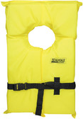 YELLOW ADULT LIFE VEST-FOAM LG TYPE II LIFE VEST (SEACHOICE)