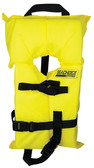 YELLOW CHILD SM LIFE VEST-FOAM TYPE II LIFE VEST (SEACHOICE)