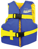 BLUE/YELLOW YOUTH VEST 25-29 TYPE III BOAT VEST (SEACHOICE)