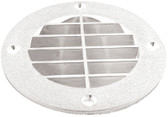 LOUVERED VENT COVER - WHT LOUVERED VENT COVER (T-H MARINE)