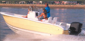 CCF-17 POLY-GUARD COVER V-HULL CENTER CONSOLE FISHING WITH HIGH BOW RAILS (CARVER COVERS)