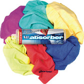 MINI ABSORBER 17X13 ASST COLOR ABSORBER (CLEAN TOOLS)