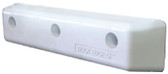 PROTECT STRAIGHT HD 12IN WHITE PROTECT BUMPER (DOCK EDGE)