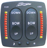 ELECTRONIC INDICATOR CONTROL HYDRAULIC SYSTEM CONTROL OPTIONS (BENNETT TRIM TABS)