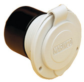 15A ON-BOARD CHARGER INLET-WHT ON-BOARD CHARGER INLET (MARINCO/GUEST/AFI/NICRO/BEP)