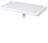 RECTANGULAR TABLE TOP BEIGE RECTANGULAR SURFACE MOUNT TABLE & PEDESTAL KIT (DETMAR)