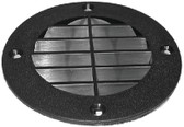 LOUVERED VENT COVER - BLK LOUVERED VENT COVER (T-H MARINE)