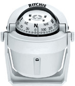 EXPLORER COMPASS WHITE-BKT/MT EXPLORER COMPASSES (RITCHIE NAVIGATION)