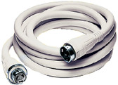 50 AMP 125/250 VOLT WHITE 50 50A SHORE POWER CABLE SET (HUBBELL)