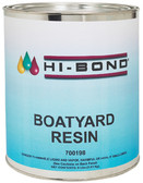 BOAT YARD RESIN 8# GAL W/HDNR BOAT YARD POLYESTER RESIN - NO WAX (HI BOND)
