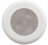 BOGOTA 4-LED ROUND LIGHT W/WH BOGOTA 4-LED ROUND ACCENT COURTESY LIGHT (AQUA SIGNAL)