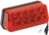 """LED WRAP-AROUND TAIL LIGHT LH OVER 80"""" LED WRAP AROUND TAIL LIGHT (WESBAR)"""