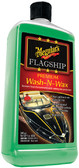 FLAGSHIP PREM WASH-N-WAX 32OZ FLAGSHIP PREMIUM WASH-N-WAX (MEGUIAR'S INC.)