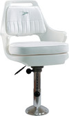 CHAIR W12-18IN ADJ PED & SLIDE PILOT CHAIR WITH CUSHIONS (WISE SEATING)