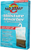 NO DAMP HANG BAG 14 OZ NO DAMP HANGING MOISTURE ABSORBER & DEHUMIDIFIER (STARBRITE)