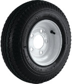 """480-8 B/5H WH K371 8"""" BIAS TIRE AND WHEEL ASSEMBLY (LOADSTAR TIRES)"""