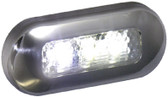 LED OBLONG COURTESY WHT-SS BEZ LED OBLONG COURTESY LIGHTS (T-H MARINE)
