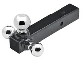 TRI-BALL SOLID SHANK 2 TRI-BALL TRAILER HITCH (SEACHOICE)