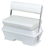 50 QT SWINGBACK COOLER SEAT WH SWINGBACK COOLER SEAT WITH ALUMINUM ARMS (WISE SEATING)