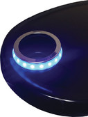 LED CUP HOLD ACCENT RING BLUE CUP HOLDER LED ACCENT RING (T-H MARINE)