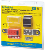 FUSEBLOCK ST BAT TERM MNT 4CIR ST-BLADE BATTERY TERMINAL MOUNT FUSE BLOCK (BLUE SEA SYSTEMS)