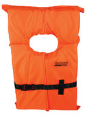 ORANGE ADULT XL LIFE VEST FOAM TYPE II LIFE VEST (SEACHOICE)