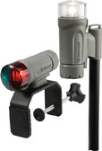 PORT NAV LIGHT GRAY BATTERY OPERATED LED PORTABLE NAV LIGHT KIT (ATTWOOD MARINE)