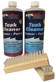 TEAK CLEANER KIT PART A&B QT TWO-PART TEAK CLEANER (SUDBURY)