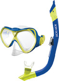 MASK COVE BLUE/CITRON JR OASIS COVE COMBO (BODY GLOVE)