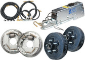 BRAKE KIT 10  DRUM/66ACT/BL COMPLETE DRUM BRAKE KIT (DEXTER)