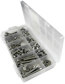 KIT 256 PC SS M/S MACHINE SCREW KIT - 256 PIECE (SEACHOICE)