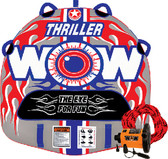 TOWABLE THRILLER 1PERSON KIT THRILLER DECK TUBE STARTER KIT (WOW SPORTS)