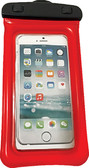 CASE WATRPROOF PHONE 4 X8  RED H2O PROOF PHONE HOLDER (WOW SPORTS)