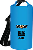DRYBAG 40L BLUE 13.5''X20'' H2O PROOF DRYBAGS (WOW SPORTS)