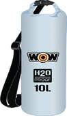DRYBAG 20L CLEAR 11.5''X16'' H2O PROOF DRYBAGS (WOW SPORTS)