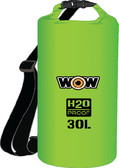 DRYBAG 30L GREEN 13.5''X18.5'' H2O PROOF DRYBAGS (WOW SPORTS)