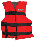 BLK/RED YOUTH VEST TYPE III GENERAL PURPOSE VEST (SEACHOICE)
