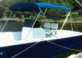 "3 BOW TOP KIT 67-72 BLUE 36""-46"" HIGH 3 BOW UPS-ABLE BIMINI TOP KIT (CARVER)"