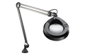 Luxo KFM Magnifier, Edge Clamp, Black