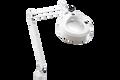 Luxo KFM Magnifier, Edge Clamp, Light Grey/White