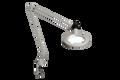 Luxo KFM LED Magnifier, Light Grey, Edge Clamp