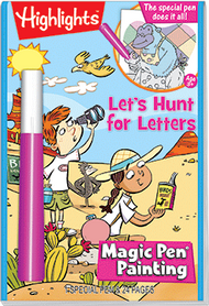 "Magic Pen® Painting: Highlights™ ""Let's Hunt for Letters"""