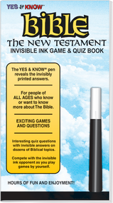 "Invisible Ink: Yes & Know® Bible ""New Testament"""